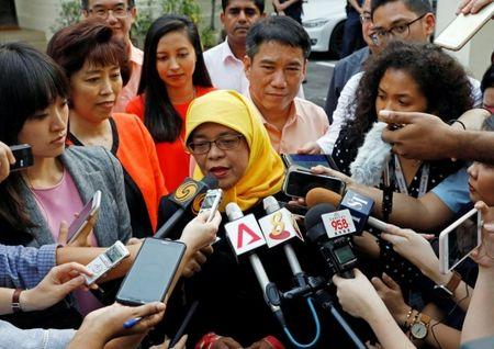 Halimah Yacob - Nu Tong thong dau tien trong lich su Singapore - Anh 2