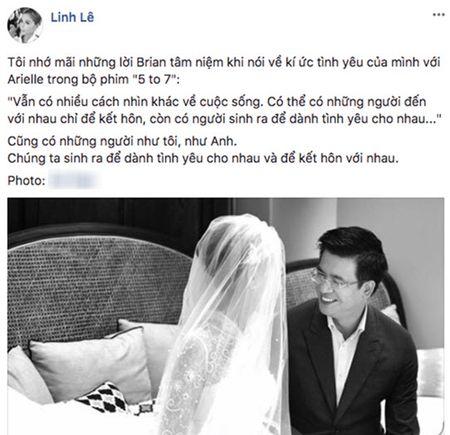 Bi nghi trai cong, BTV Quang Minh sap cuoi nha van Linh Le xinh nhu hoa? - Anh 2