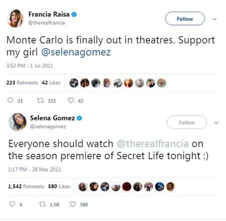 Francia Raisa than voi Selena Gomez den muc nao ma hien than cho ban? - Anh 5
