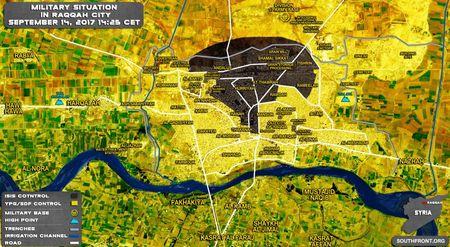 Chien su Syria: Nguoi Kurd don binh ket lieu IS tai Raqqa (video) - Anh 1