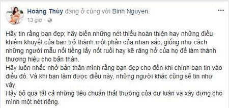Bi che khong du tieu chuan hoa hau, 'thanh ca dao' Hoang Thuy tham thuy dap tra - Anh 1