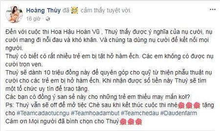 Bi che khong du tieu chuan hoa hau, 'thanh ca dao' Hoang Thuy tham thuy dap tra - Anh 7