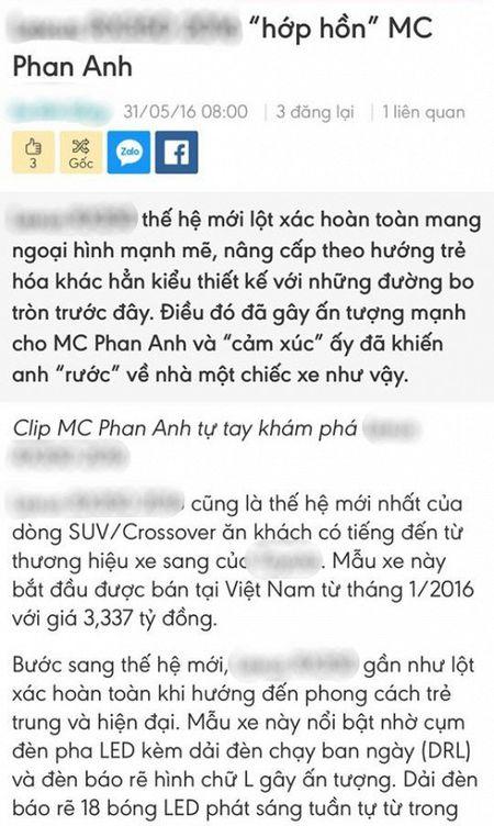 MC Phan Anh goi anti-fan la 'lu khon', danh thep dap tra khi bi cho dung 24 ty dong tu thien lam cua rieng - Anh 2