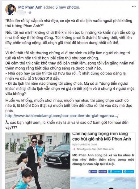 MC Phan Anh goi anti-fan la 'lu khon', danh thep dap tra khi bi cho dung 24 ty dong tu thien lam cua rieng - Anh 5