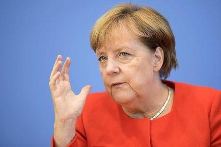 Ba Angela Merkel tiet lo de xuat moi cua ong Vladimir Putin ve Ukraina - Anh 1
