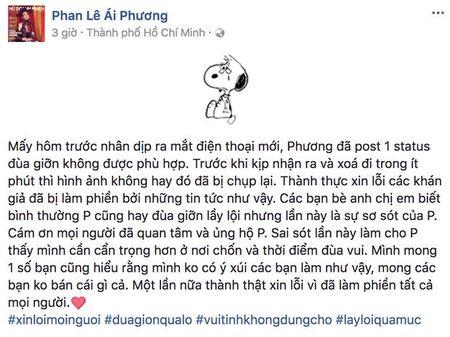 Ca si Ai Phuong xin loi sau su co ru moi nguoi... ban dam de mua iPhone X - Anh 3