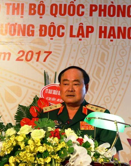 Tong Cong ty Dau tu phat trien nha va Do thi Bo Quoc phong don nhan Huan chuong Doc lap hang Ba - Anh 2
