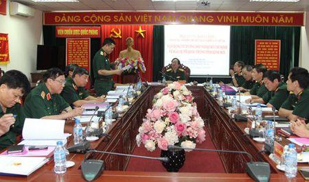 Nghiem thu De tai 'Van dung tu tuong doi ngoai Ho Chi Minh trong Bao ve To quoc' - Anh 2