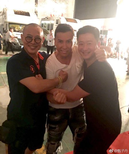 Ly Lien Kiet khoe manh hon trong ngay gap Chan Tu Dan, Ngo Kinh - Anh 1