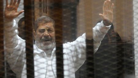 Toa an Ai Cap giu nguyen muc an tu chung than doi voi cuu Tong thong M. Morsi - Anh 1