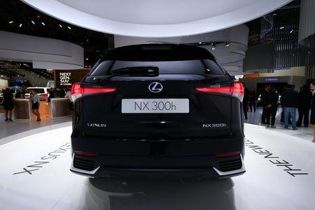 Anh thuc cua Lexus NX 300h 2018 tai Trien lam O to Frankfurt 2017 - Anh 3