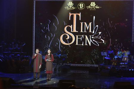 Ta Quang Thang, Ngoc Khue xuat hien an tuong trong dem nhac 'Tim Sen' - Anh 1