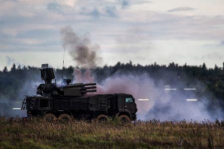 Binh si Nga-Belarus ram ro trien khai cuoc tap tran chung Zapad 2017 - Anh 7