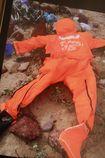 Phát hiện áo bảo hộ thủy thủ trong vụ tàu chìm ở Nghệ An