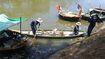 Cá chết nổi trắng kênh Phú Lộc