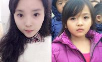 """Bé gái 5 tuổi được khen """"xinh hơn"""" Hoa hậu Kỳ Duyên"""