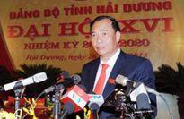 Chủ tịch UBND tỉnh Hải Dương được bầu giữ chức Bí thư Tỉnh ủy