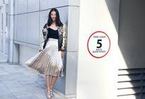 Trang Khiếu gợi ý trang phục dạo phố mùa thu
