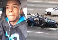 Vừa phóng xe 186km/h vừa livestream Facebook, thanh niên đâm sầm vào xe rác nguy kịch