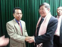 Tổng LĐLĐVN hội đàm với Đoàn Liên minh Liên hiệp CĐ Quốc gia Campuchia