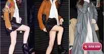 """Yoona bối rối vì váy ngắn, """"đối đầu"""" với bạn gái Lee Min Ho"""