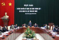 Bắc Ninh: Nhiều hoạt động kỷ niệm 185 năm thành lập và 20 năm tái lập tỉnh