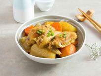 Cánh gà kho củ cải trôi cơm đến bất ngờ
