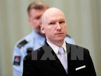 Na Uy kháng cáo về cáo buộc đối xử 'vô nhân đạo' với sát nhân ở Oslo
