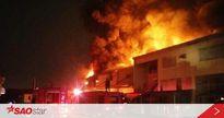 Đang xảy ra vụ cháy lớn tại công ty Suzuki Đồng Nai