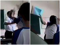 Kỷ luật thầy trò đánh nhau, khiển trách, phê bình 2 học sinh quay clip