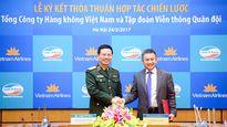 Vietnam Airlines, Viettel 'bắt tay' chiến lược