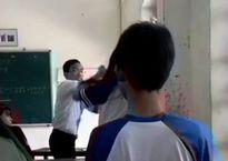 Vụ giáo viên và học sinh đánh nhau: Kỷ luật 2 thầy trò