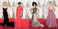 Thảm đỏ 'đa sắc tộc' của Oscar lần thứ 89