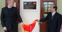 Đại sứ Ted Osius khánh thành trường học do Mỹ xây dựng tại Hà Giang