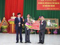 Xã Quang Lộc được công nhận đạt chuẩn nông thôn mới