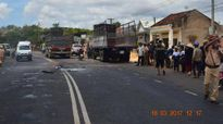 Gia Lai: Xe buýt đâm vào đuôi xe tải, 19 người thương vong