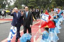 Tổng thống Israel bắt đầu chuyến thăm Việt Nam