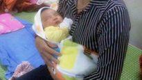Ngỡ ngàng bé trai nặng 6,1kg chào đời tại Nghệ An