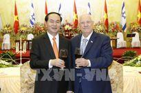 Chủ tịch nước: Hợp tác song phương Việt Nam-Israel sẽ bước vào giai đoạn phát triển mới