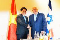 Chủ tịch UBND TP Nguyễn Đức Chung tiếp Tổng thống Israel
