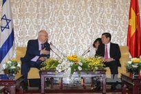 Tổng thống Israel thăm và làm việc tại Thành phố Hồ Chí Minh