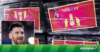 Cảnh sát Peru bắt giữ hơn 1 tấn ma túy được dán nhãn Lionel Messi