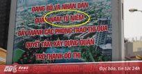Hàng loạt khẩu hiệu sai chính tả 'ngớ ngẩn' ở quận Nam Từ Liêm