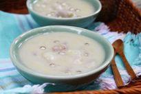 Công thức nấu chè khoai sọ nấu đậu xanh cho mùa hè