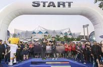 Chạy tiếp sức hưởng ứng SEA Games 29 và Para Games 9 sắp diễn ra ở Hà Nội