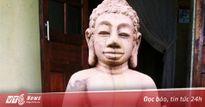 Pho tượng phật nguyên khối đào được ở Huế chỉ là đồ giả cổ