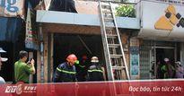 Giải cứu 2 vợ chồng ngủ say trong ngôi nhà đang bốc cháy