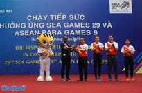 Tưng bừng Ngày chạy tiếp sức hưởng ứng SEA Games 29