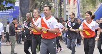 Hoàng Xuân Vinh, Lê Văn Công chạy hưởng ứng SEA Games 29 và Para Games 9