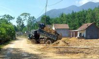 Bình Định: Ngang nhiên xẻ núi lấy đất